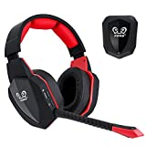 winkona 2,4GHz Wireless Gaming Headset-Compatible con PS4PS3Xbox One Xbox 360Computer...